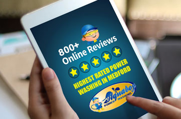 Aqua Boy Power Washing has the highest reviews in Medford